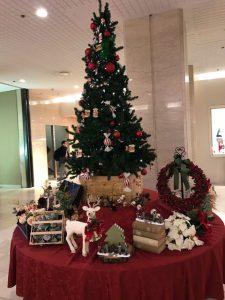 クリスマスツリー。お見合い立ち会い