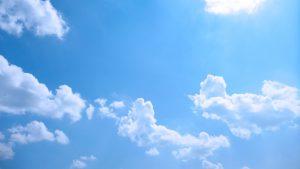 青い空、広がる空