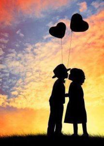 向き合い愛を誓う