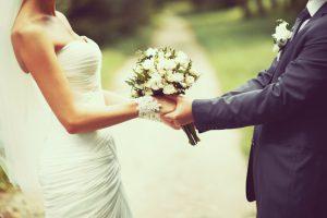 結婚して花束を