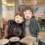 東京で婚活→成婚したセルマンの男性会員さまが入籍報告に大阪へお越しになりました!